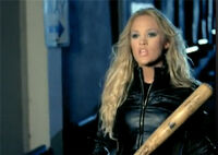 Carrie underwood louisville slugger