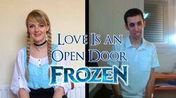 🎵 Love Is an Open Door (Frozen) ~ Played and sung by HollowRiku & LittlexxPixi