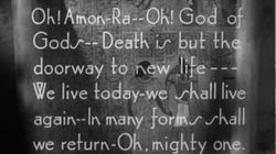 Opening Titles for The Mummy (1932)