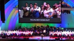 140913 - Gay Men's Chorus of Los Angeles - See My Vest @ The Simpsons Take the Hollywood Bowl~
