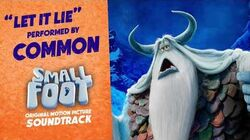 Let it Lie - Common (SMALLFOOT SOUNDTRACK)