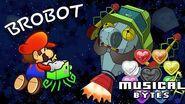 Super Paper Mario Musical Bytes - Brobot Battle