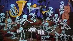 Skeleton Dance Color Version