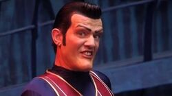 We Are Number One but it's the instrumental and it's backwards....