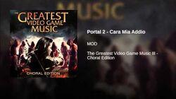 Portal 2 - Cara Mia Addio