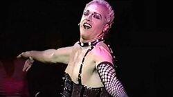 THE ROCKY HORROR PICTURE SHOW R 2000, Sweet Transvestite, Tom Hewitt