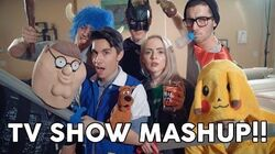 TV SHOW MASHUP - 20 Songs in 3 Minutes!! ft