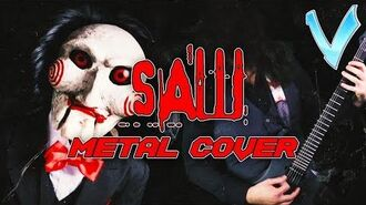 SAW THEME (HELLO ZEPP) EPIC METAL COVER (Little V)