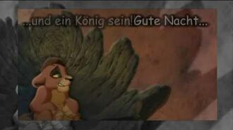 The Lion King ll - My Lullaby (German Subs)
