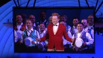 140913 - Conan O'Brien - The Monorail Song @ The Simpsons Take the Hollywood Bowl ~