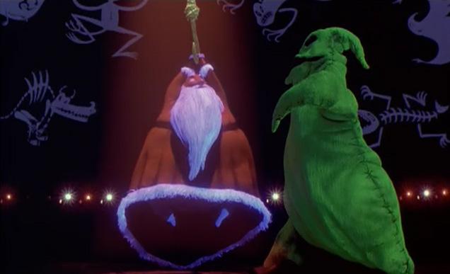 nightmare before christmas oogie and santajpg - Nightmare Before Christmas Song