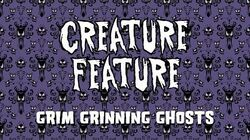 Creature Feature - Grim Grinning Ghosts ~ Haunted Mansion Theme (Official Lyrics Video)