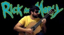 RICK AND MORTY Evil Morty Theme - Classical Guitar Cover (BeyondTheGuitar)