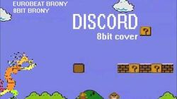 Discord 8bit (16bit) cover by the8bitbrony (Eurobeat Brony)