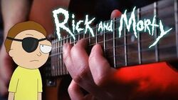 Evil Morty Theme on Guitar (For the Damaged Coda - Blonde Redhead)