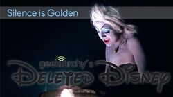 """Deleted Disney """"Silence is Golden"""" Cover (Ursula, The Little Mermaid)"""