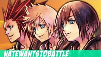 NateWantsToBattle Hold on to You LYRIC VIDEO Kingdom Hearts Song