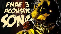 NateWantsToBattle Nightmare ACOUSTIC FNaF Song