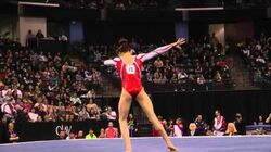 Kyla Ross - Floor Exercise Finals - 2012 Kellogg's Pacific Rim Championships