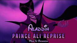 Aladdin - Prince Ali Reprise Piano & Orchestra