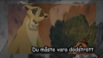 The Lion King ll - My Lullaby (Swedish Subs)