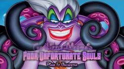 The Little Mermaid - Poor Unfortunate Souls Piano & Orchestra