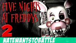 NateWantsToBattle Mangled LYRIC VIDEO FNaF Song