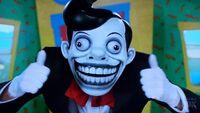 Chuckle-teeth