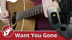 Want You Gone (Portal 2) Acoustic Guitar Cover ArnyUnderCover