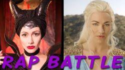 MALEFICENT vs DAENERYS Princess Rap Battle (Yvonne Strahovski & Whitney Avalon) *explicit*