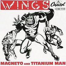 Agneto and Titanium Man cover