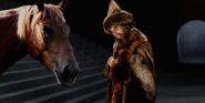 Ivan the Terrible with Horse