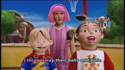 LazyTown It's Fun To be the Mayor Music Video with Lyrics