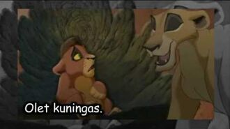 The Lion King ll- My Lullaby (Finnish Subs)