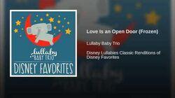 Love Is an Open Door (Frozen)