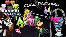 Super Paper Mario Musical Bytes - Complete Package