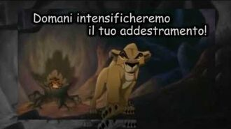 The Lion King ll - My Lullaby (Italian Subs)