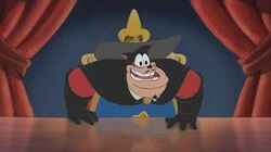 Mickey, Donald, Goofy The Three Musketeers - Petey's King Of France