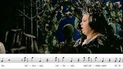 "Cristina Deutekom ""Der hölle rache"". Die Zauberflöte. La flauta mágica. W. A"