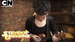 """Steven Universe Rebecca Sugar Performs """"What's the Use of Feeling (Blue)"""" Cartoon Network"""