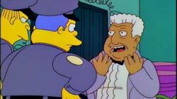 The Simpsons - Tito Puente Senor Burns (English)