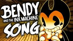 ▶️ BENDY AND THE INK MACHINE SONG ▶️ LYRIC VIDEO - Blood and Ink (NateWantstoBattle)