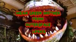 Mean Green Mother From Outerspace Lyircs