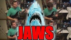 Jaws theme - One Man Cover (John Williams)