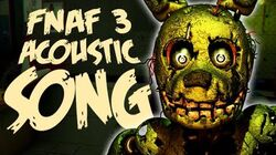 NateWantsToBattle Salvaged ACOUSTIC FNaF Song