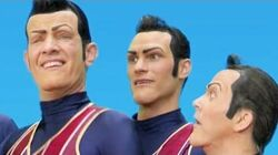 Lazy Town 🎤 MUSIC VIDEO WE ARE NUMBER ONE & MORE MASH UP 🎤 Lazy Town Songs