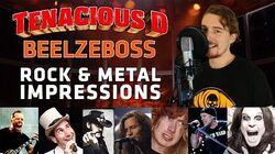 Tenacious D - Beelzeboss (ROCK & METAL IMPRESSIONS COVER), by Nico Borie