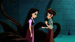 Reverse Incantation l Rapunzel Saves Quirin l Rapunzel's Tangled Adventure l Song l Hurt Incantation