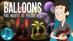 """Balloons"" - Five Nights at Freddy's 3 Song by MandoPony"