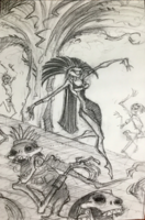 Yzma Kingdom of the Sun Concept Art